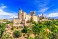 Segovia, Spain. Royalty Free Stock Photo