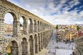 Segovia, Spain Aqueduct Royalty Free Stock Photo