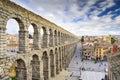 Segovia, Spain Aqueduct Royalty Free Stock Photo