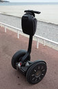 Segway rental of pt the pt is a two wheeled self balancing battery powered electric vehicle Stock Photos