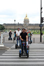 Segway Tours Paris France Royalty Free Stock Photos