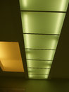 Seiling lights green and yellow Stock Photos