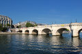 Seine river paris france Stock Photography