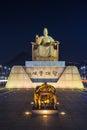Sejong of korea Royalty Free Stock Photo