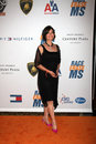 Sela ward arriving at the rock to erase ms gala at the century plaza hotel in century ciy ca on may Stock Photo