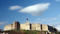 Selcuk castle Royalty Free Stock Images