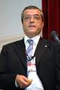 Selcuk saldirak former chairman of banca tiriac currently working in amsterdam as senior general manager of demir halk bank dhb Royalty Free Stock Photo