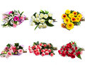 Selection of Bouquet of Flower Stock Images