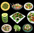 Selection Of Salads Royalty Free Stock Image