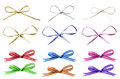Selection of Tied Bows Stock Photos