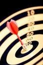 Selective focused dart and tar Stock Photos