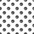 Self balancing wheel pattern vector
