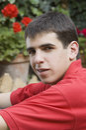 Self-confident Jugendlicher Stockbilder