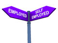 Self employed or working