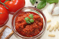 Self made red Pesto Royalty Free Stock Photo