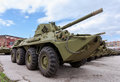 Self propelled gun nona svk russian Royalty Free Stock Photo