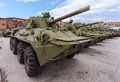 Self propelled gun nona svk russian Royalty Free Stock Image