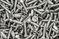 Self tapping screws Royalty Free Stock Photo
