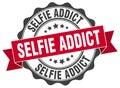 selfie addict stamp