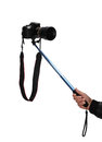 Selfie stick Royalty Free Stock Photo