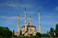 The Selimiye Mosque, Edirne Turkey Royalty Free Stock Photo