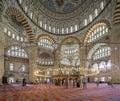 Selimiye Mosque Interior Royalty Free Stock Photo