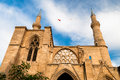 Selimiye mosque nicosia cyprus st sophia cathedral Royalty Free Stock Images