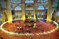 Selimiye Mosque in the wide-angle shooting Royalty Free Stock Photo
