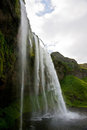 Seljalandsfoss Waterfall in Iceland Royalty Free Stock Photo