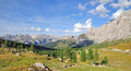 Sella Pass,Val Gardena,South Tyrol,Dolomites Stock Photography