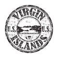 Selo de United States Virgin Islands Imagens de Stock