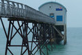 Selsey Lifeboat station Back View Royalty Free Stock Photography