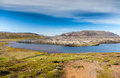 Selvallavatn, a vulcanic lake in Iceland. Royalty Free Stock Image