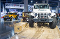 Sema car show las vegas nov jeep at the in las vegas navada on november the is the premier automotive specialty products Stock Images