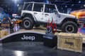 Sema car show las vegas nov jeep at the in las vegas navada on november the is the premier automotive specialty products Stock Photography