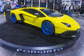 Sema car show las vegas nov lamborghini sport at the in las vegas navada on november the is the premier automotive Royalty Free Stock Images