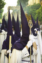 Semana Santa (Holy Week) in Andalusia, Spain. Stock Photo