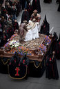 Semana Santa parade (Holy Week) Royalty Free Stock Photos