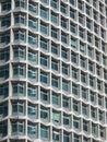 Semi-abstract teilweiser Schuß des Wolkenkratzers Lizenzfreie Stockbilder