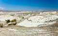 Semi arid landscape in central turkey Stock Photography