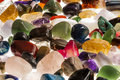 Semi Precious Gem Stones Royalty Free Stock Photo