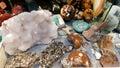 semi precious gemma stones Royalty Free Stock Photo