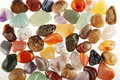 Semi precious stones Royalty Free Stock Photo