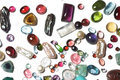 Semi-precious stones Royalty Free Stock Photo