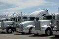 Semi Trucks Royalty Free Stock Photo