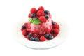 Semifreddo ice cream Royalty Free Stock Image