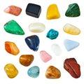 Semiprecious gems