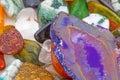 Semiprecious natural stones