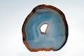 semiprecious stone agate from Brazil