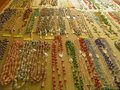 Semiprecious stone necklaces